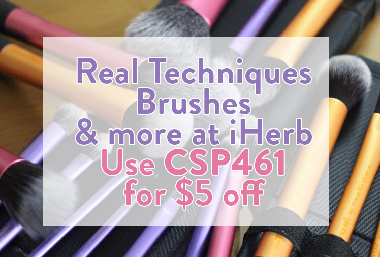 iherb real techniques brushed discount