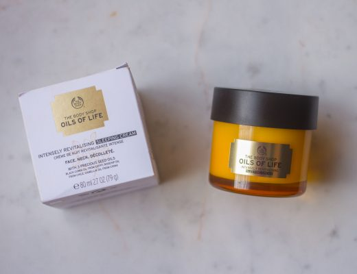 the body shop oils of life sleeping cream (1 of 8)