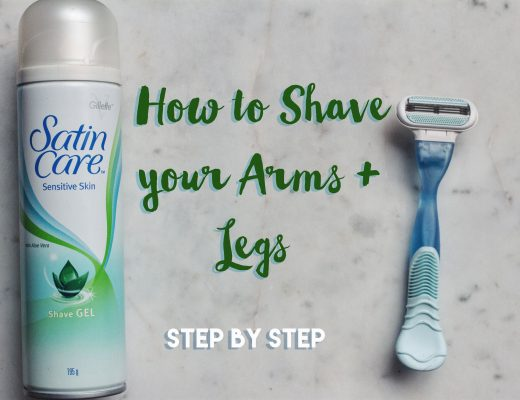 How To Shave Your Arms & Legs