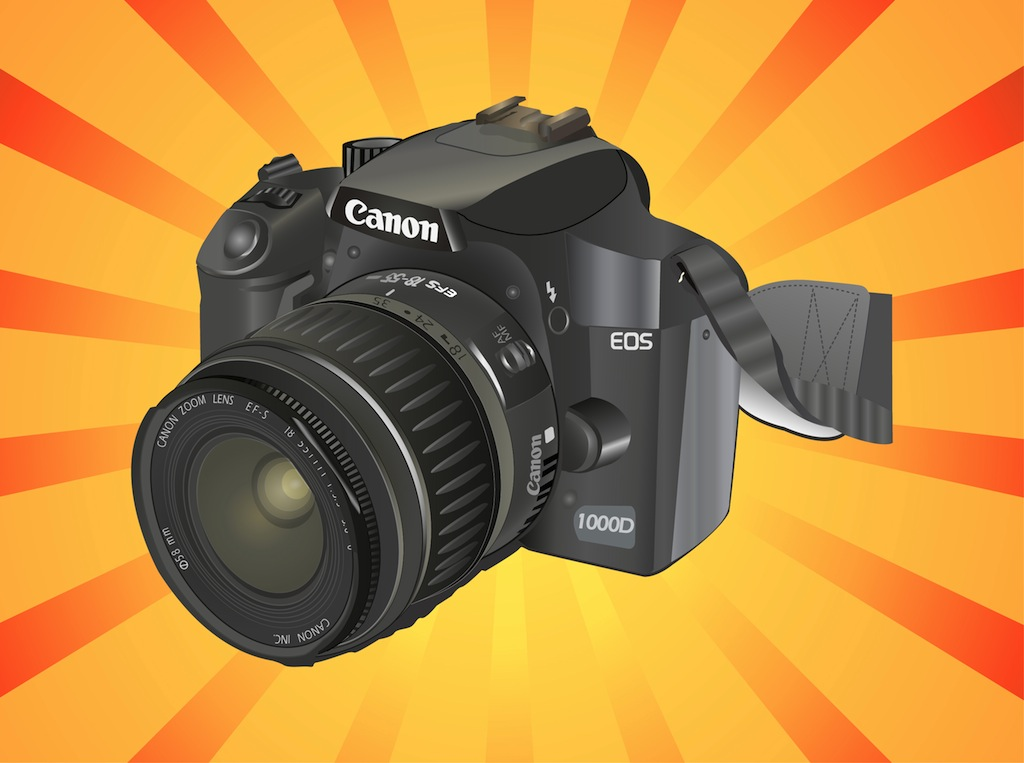 My First Camera - Canon 1000D