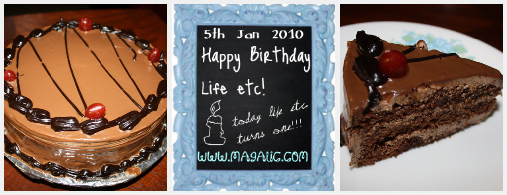 Magalic.com first anniversary