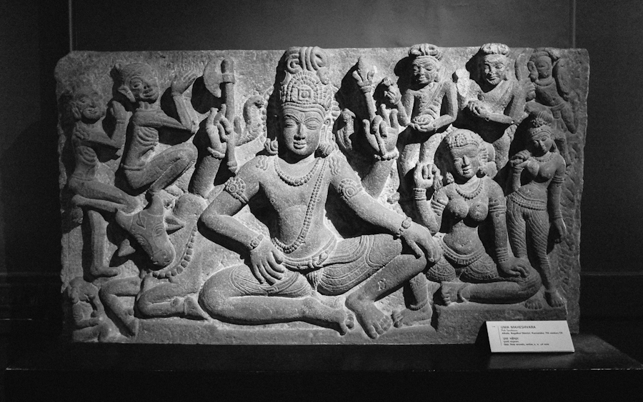 Sculptures at the Chhatrapati Shivaji Maharaj Vastu Sangrahalaya