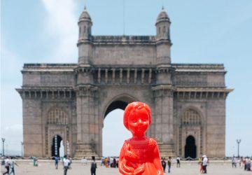 Ada the globetrotting doll in Mumbai