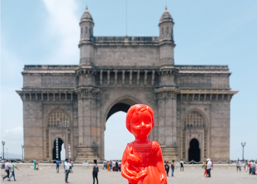 Ada the globetrotting doll in Mumbai