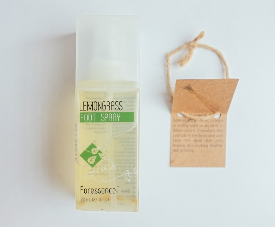 The Nature's Co Lemongrass Foot Spray