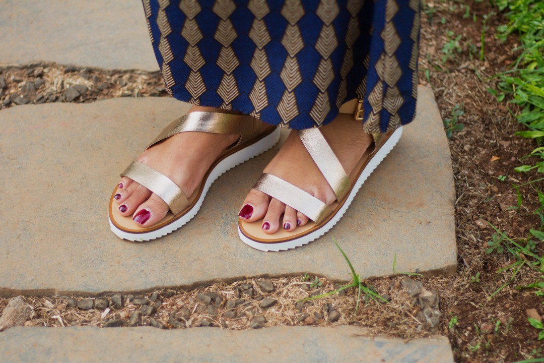 Steve Madden Gold Sandals, Topshop Maxi