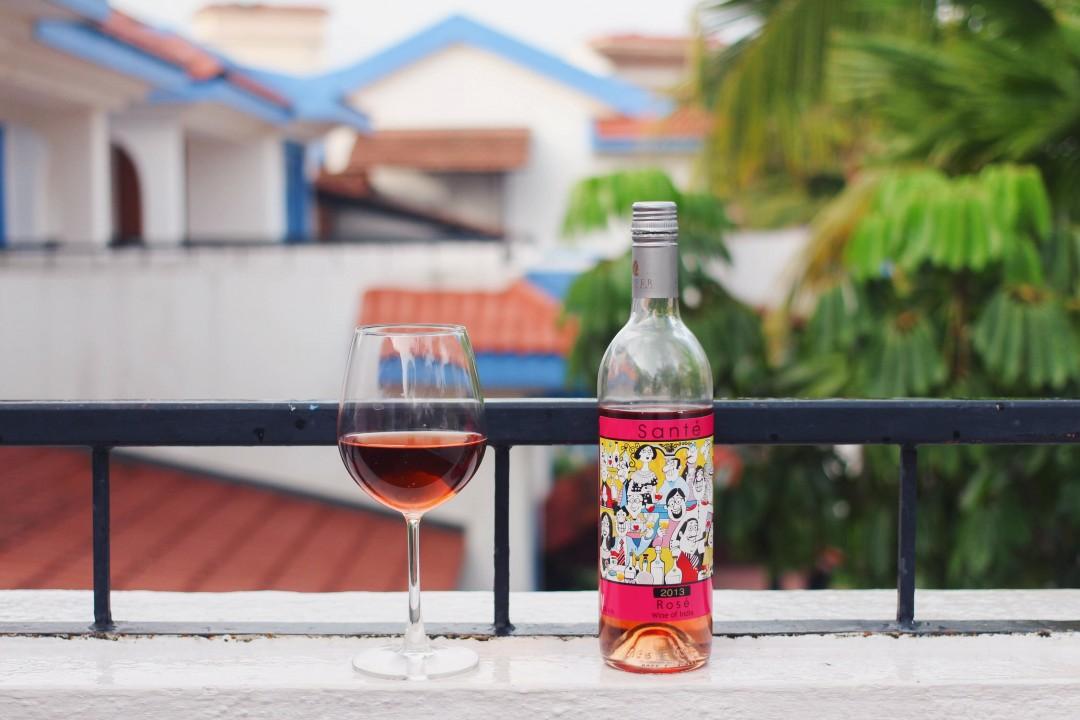 Santé Rosé Wine, Mario Miranda
