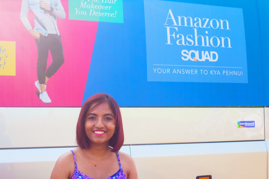 Amazon Fashion Squad Bus at EVC #kyapehnu