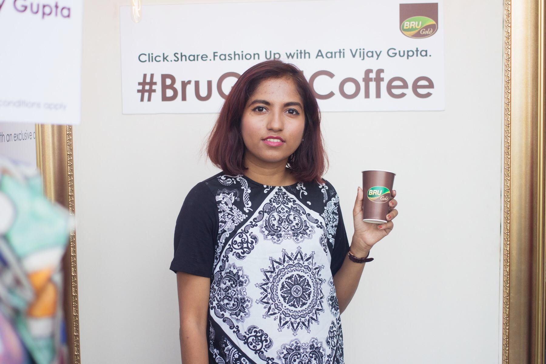 Bru Gold Coffee at Lakmé Fashion Week