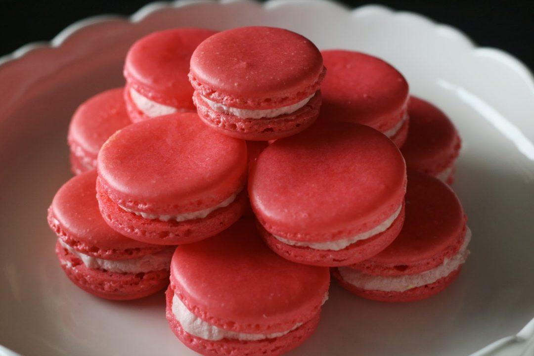 Rooh Afza Macarons