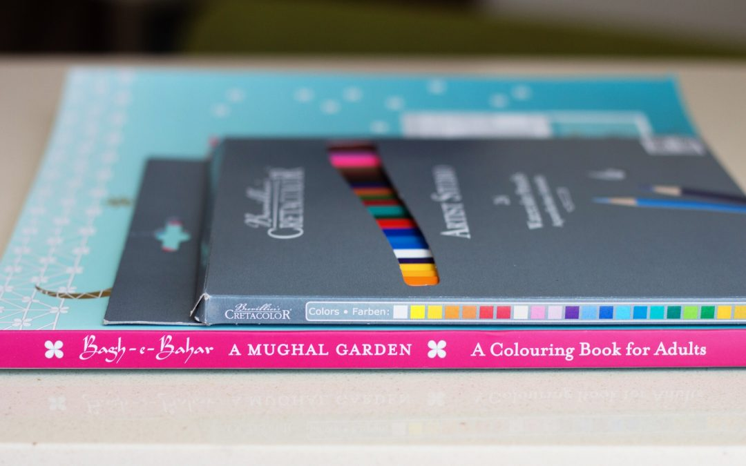 Good Earth Bagh-e-Bahar Adult Colouring Book