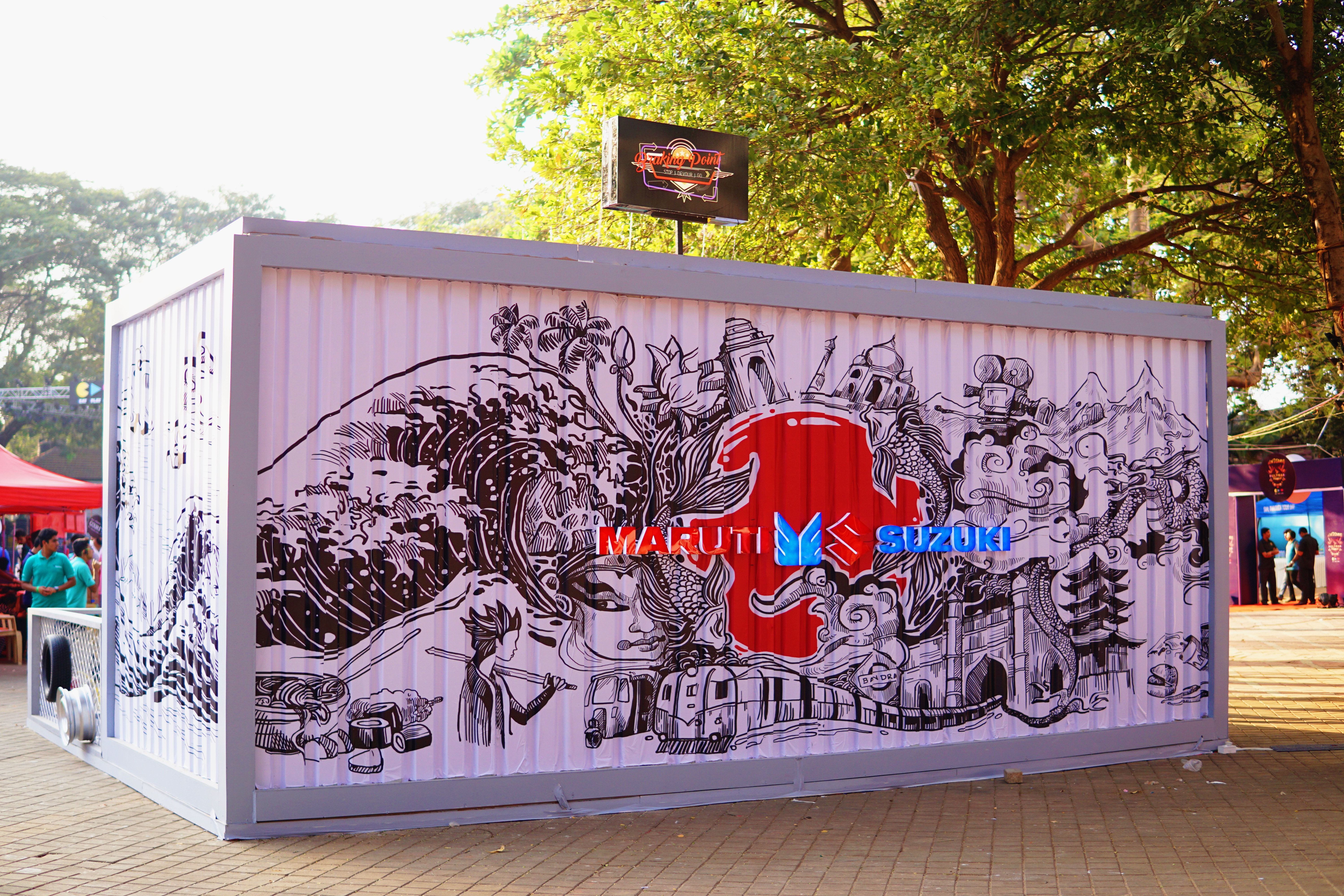 Maruti Suzuki Braking Point Café at Eat Play Love