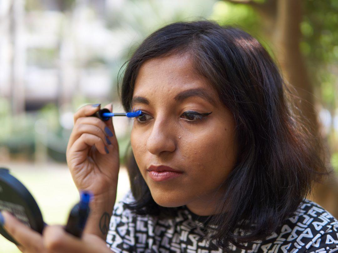 Lakmé Eyeconic Blue Mascara