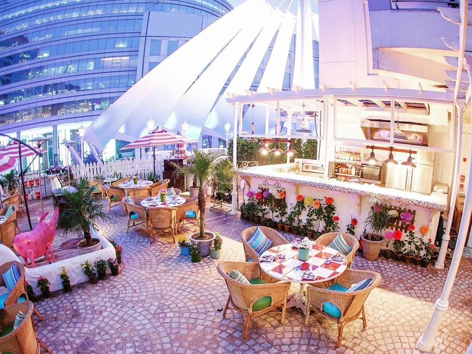 10 Most Romantic Places in Delhi; Olive Bistro & Bar, Cyber Hub