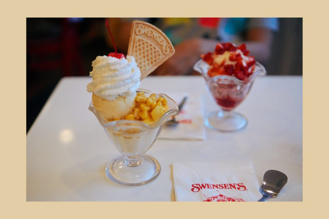 Best Ice Cream Sundaes - Swensen's Bangkok, Eating out in Bangkok